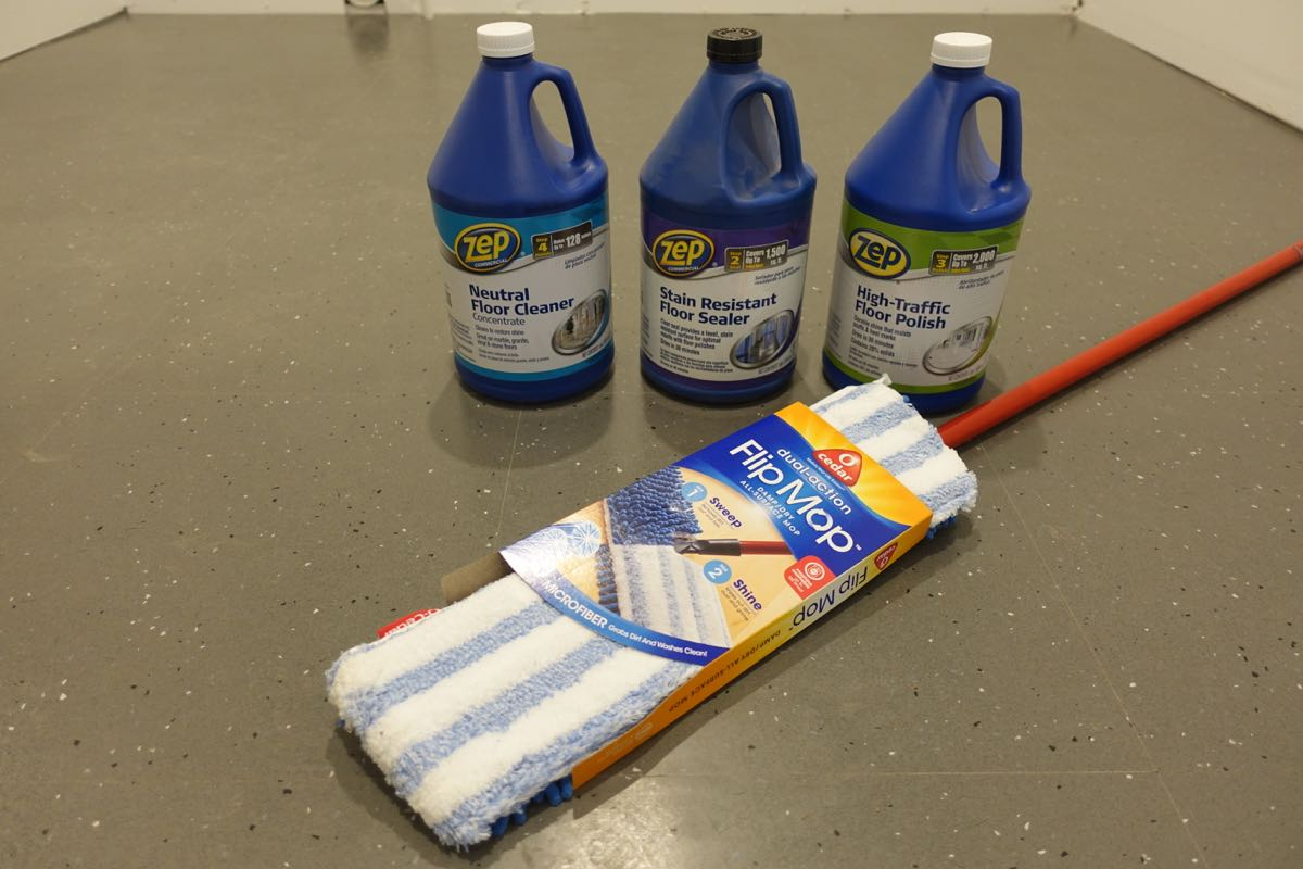 How To Seal Vct Tile The Modern Mid